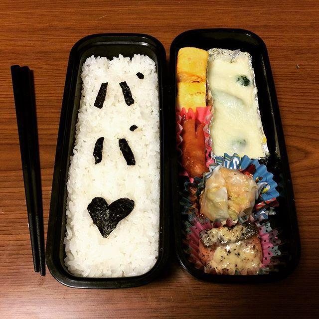 #娘 が #お弁当 を作ってくれました。 ・ ・ ・ #グルメ #昼食 #昼飯 #昼ご飯 #弁当 #手作り #デコ #キャラ弁 #こども #腹パン #おなかいっぱい #満腹 #ダイエット #週に一度の贅沢 #gourmet #food #dinner #lunchbox #Homemade #handmade #charaben #chirld #deco #diet #Satiety