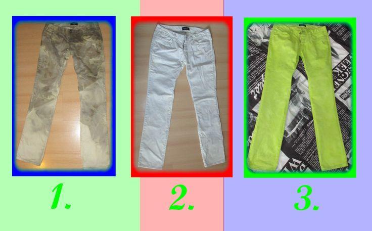 """Spodnie """"Grasz w zielone?"""":)"""
