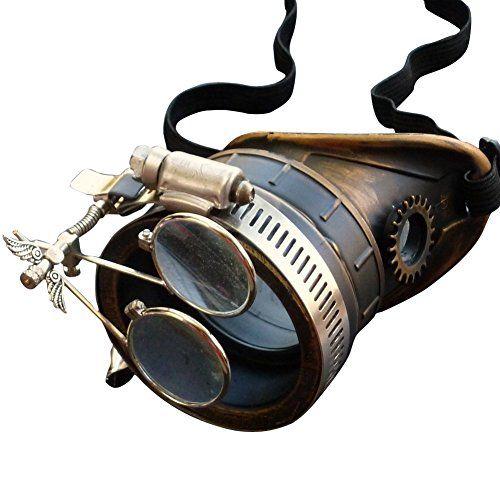 Steampunk Victorian Goggles welding Glasses monocle clear lens left eye umbrellalaboratory http://www.amazon.com/dp/B00J3AM7LS/ref=cm_sw_r_pi_dp_0dbdub0YTZT33