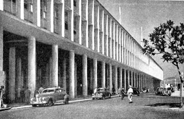 Aeroporto Santos Dumont – 1956   http://www.skyscrapercity.com/showthread.php?t=877776&page=73