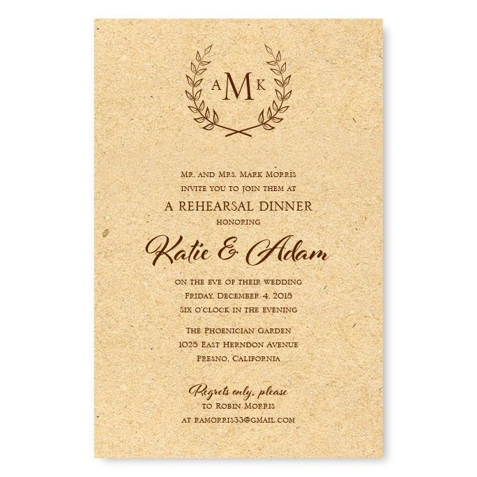 17 Best Ideas About Dinner Invitations On Pinterest