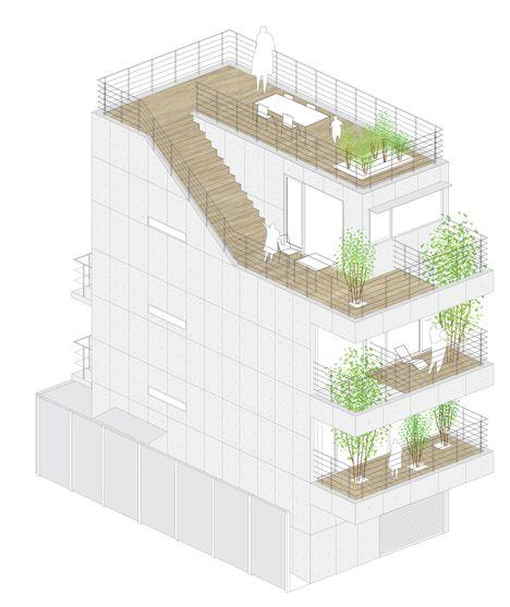 Balcony House by Ryo Matsui Architects_dezeen_11