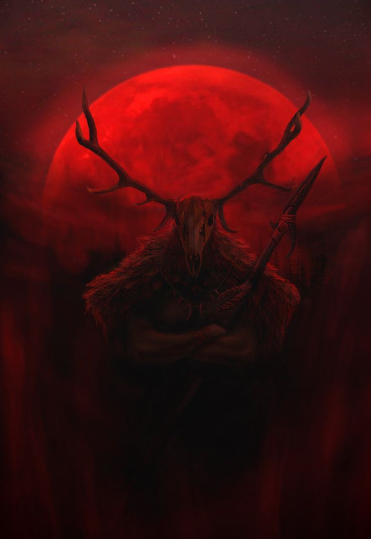 """Hircine, whose sphere is the hunt, the sports of Daedra, the greatest game, the chase and sacrifice of mortals; known by the names The Huntsman of The Princes, and The Father of Manbeasts."" Art by:..."