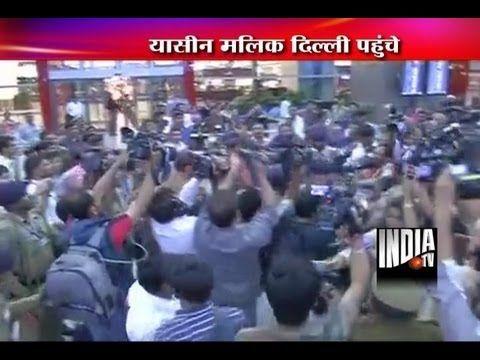 TV BREAKING NEWS Yasin Malik arrives in India, says 'did not invite Hafiz Saeed' - http://tvnews.me/yasin-malik-arrives-in-india-says-did-not-invite-hafiz-saeed/