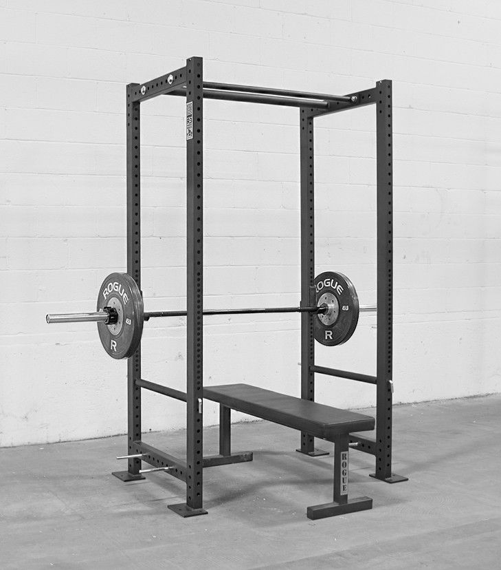 The Rogue R-3 power rack is, in my opinion, the best choice for being able to squat, bench press, and military press safely.