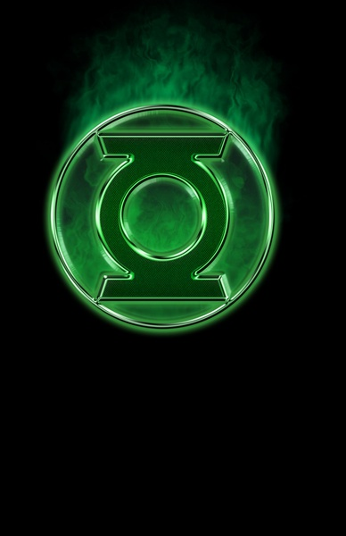 Green Lantern Spectre Art Print