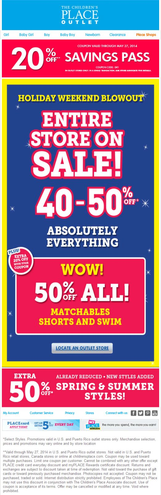 25 best coupon app images on pinterest coupon coupons and december the childrens place coupon the childrens place promo code from the coupons app everything is off and more at the childrens place outlet locations fandeluxe Image collections