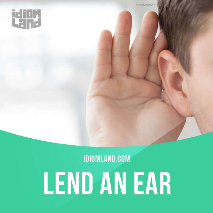 """Lend an ear"" means ""to listen carefully"".  Example: Lend an ear to me and I will tell you a story.  #idiom #idioms #saying #sayings #phrase #phrases #expression #expressions #english #englishlanguage #learnenglish #studyenglish #language #vocabulary #dictionary #grammar #efl #esl #tesl #tefl #toefl #ielts #toeic #englishlearning #vocab #wordoftheday #phraseoftheday"
