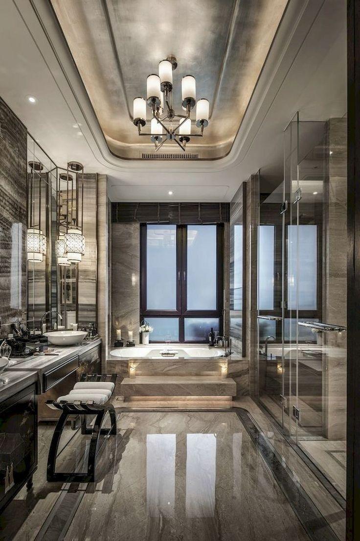 56 Stunning Modern Bathroom Design For Your House 16 Bathroom Design Luxury Modern Master Bathroom Home Interior Design