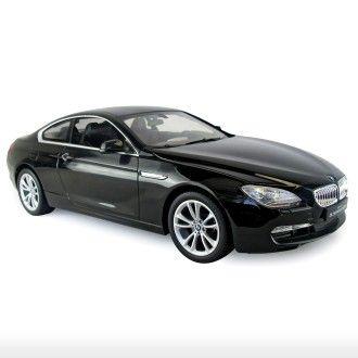 BMW 6 Series - Black For more Rastar toys, visit http://www.yellowgiraffe.in/ #Rastar #toys #cars #BMW
