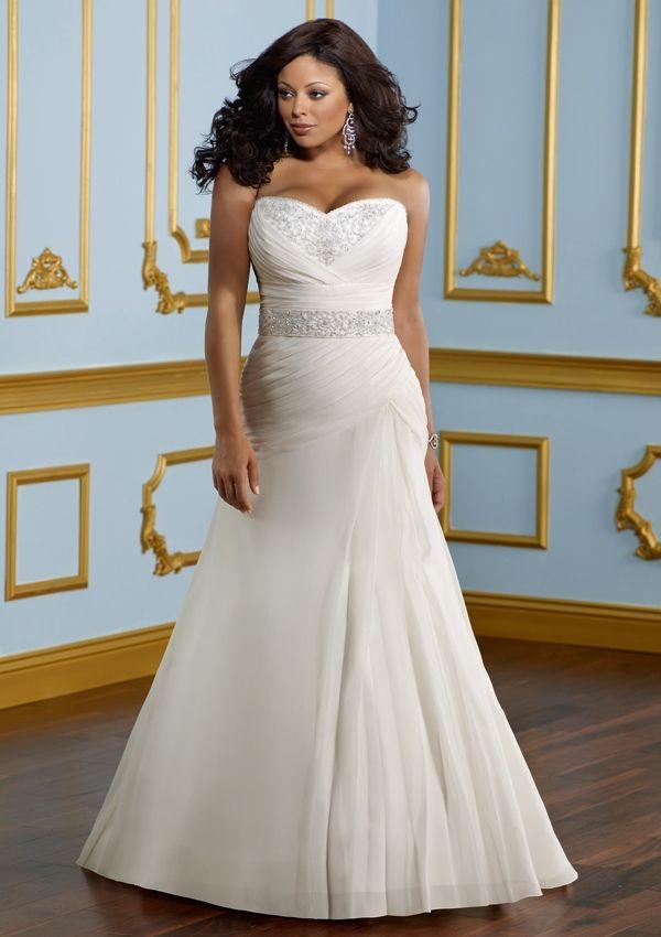 Mori Lee Julietta Plus Size Wedding Dress 3113448 best CURVE PLUS BRIDAL images on Pinterest   Wedding dressses  . Plus Size Wedding Dress Designers. Home Design Ideas