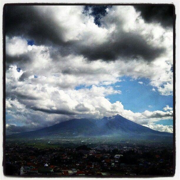 Mt. Salak of Bogor, Indonesia