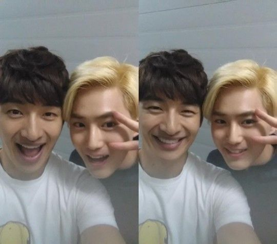 "g.o.d members Praise EXO's Leader Suho while Filming for Variety Show ""EXO 90:2014″"