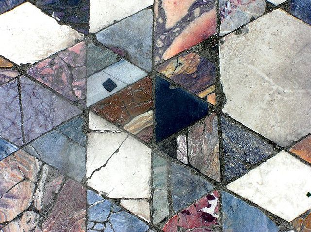 Mosaic floor, Herculaneum, Italy  via Pattern Observer