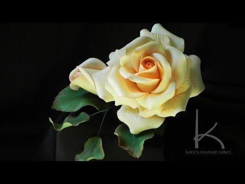 Make A Sugar Rose Video Tutorial | Kara's Couture Cakes