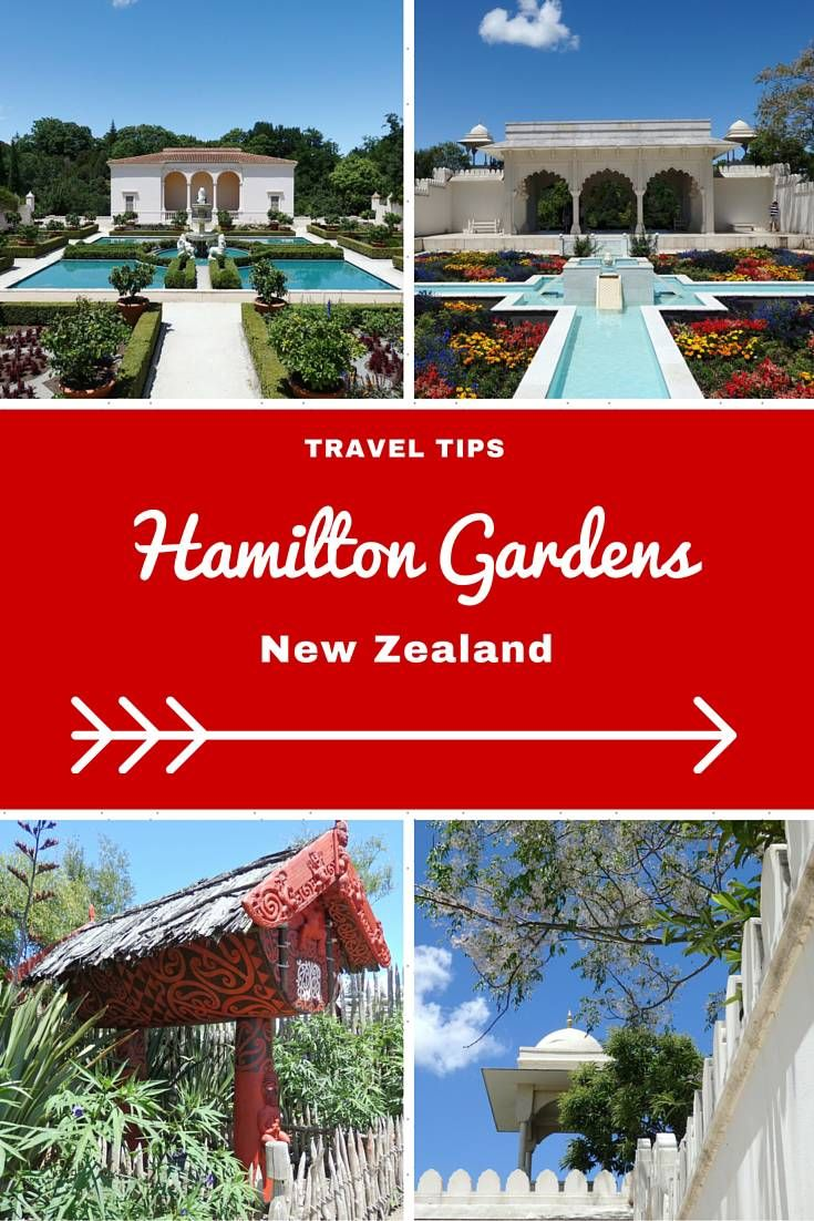 New Zealand Travel Inspiration - Exploring the Hamilton Gardens in the North Island of New Zealand.  The gardens show your different styles of gardening in various countries and during different centuries.  For more travel inspiration check out my blog www.aroundtheworldin80pairsofshoes.com