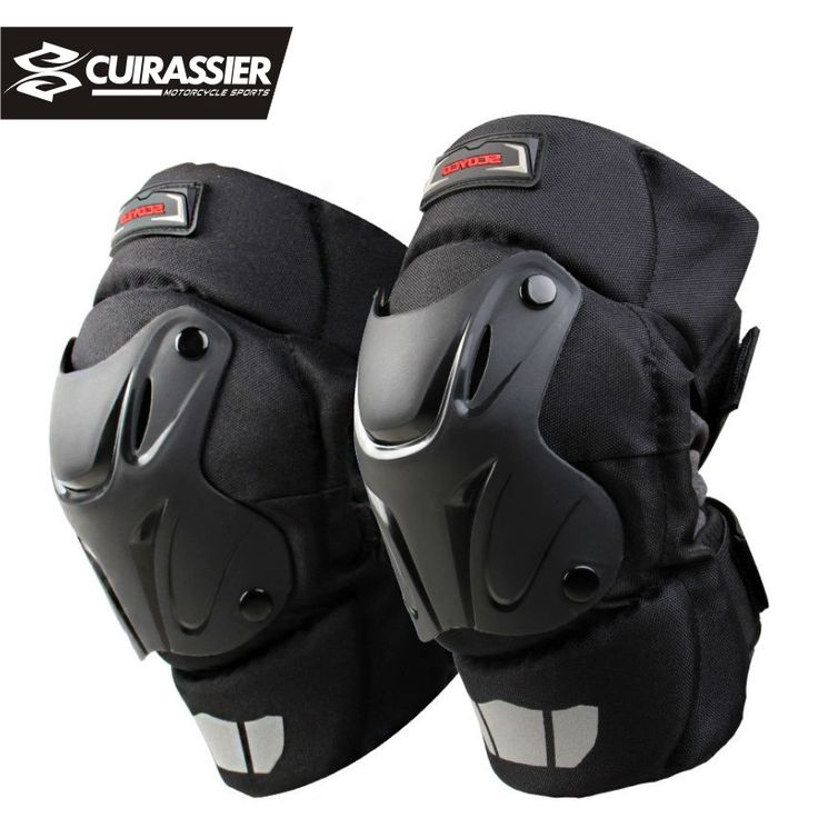 Cuirassier K01 Protective Kneepad Motocross Motorcycle equipment Knee Protector bike Scooter Racing Guards Riding Off road Black