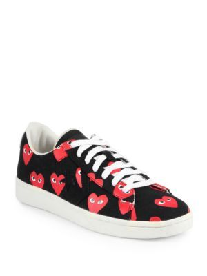Comme des Garcons - Canvas Lace-Up Sneakers - Saks.com