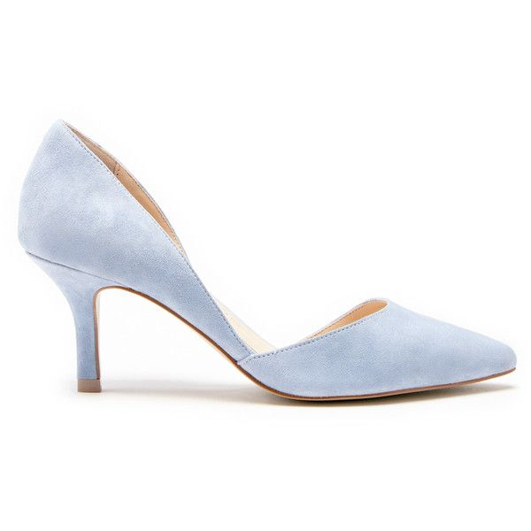 Pale Yellow High Heel Shoes