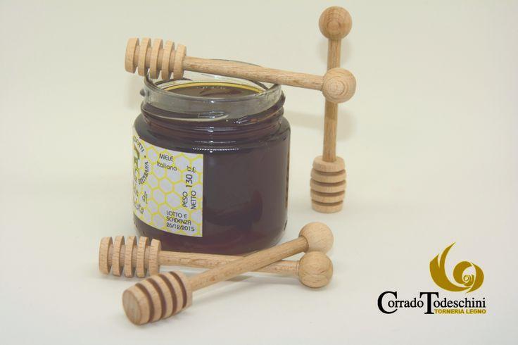 Mielini in legno  #legno #spalmamiele #spargimiele #apicoltura #miele #apicoltura #bomboniere