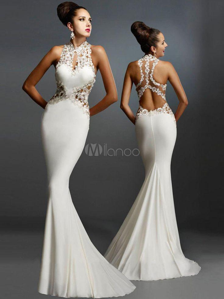Elegant Cut Out Lace Sleeveless Women's Maxi Dress - Milanoo.com