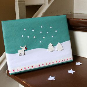 little reindeer wrapping