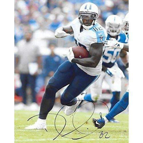 Delanie Walker Tennessee Titans, Signed, Autographed, 8x10 Photo, a COA with the Proof Photo of Delanie Signing Will Be Included-