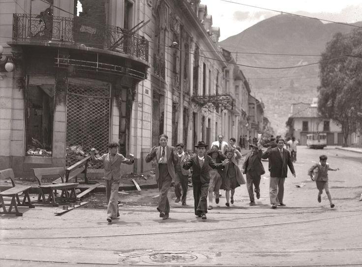 Calle 16 con carrera 7ª, el Hotel Regina en ruinas | Sady Gonzalez