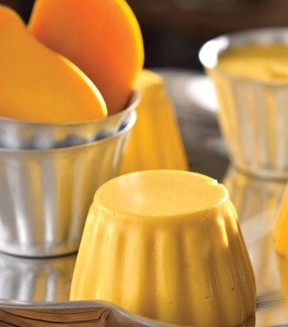 Gelatina de mango.