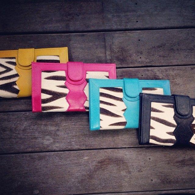 Zebra Print Wallets