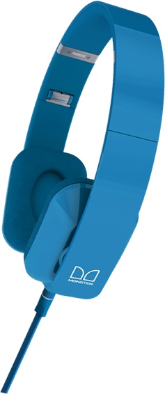 On ear / Nokia Purity by Monster - Blue