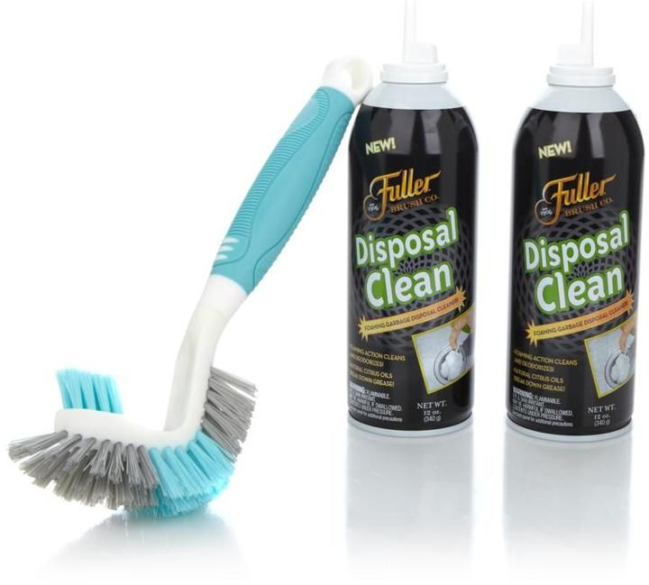Fuller Brush Co. Disposal Clean Foam and Cleaning Brush Kit