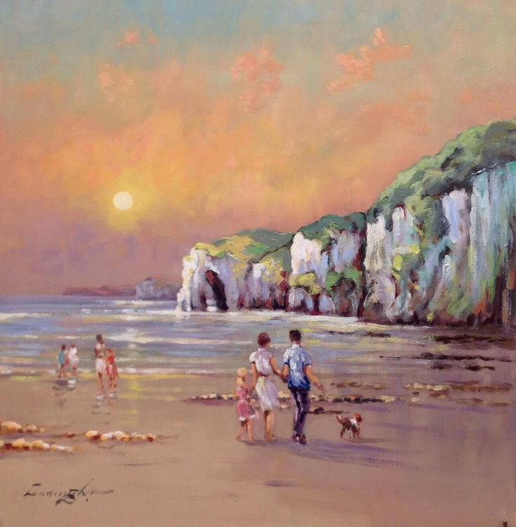 'Family Day Out, Whiterocks,  Portrush, Co. Antrim' by William Cunningham