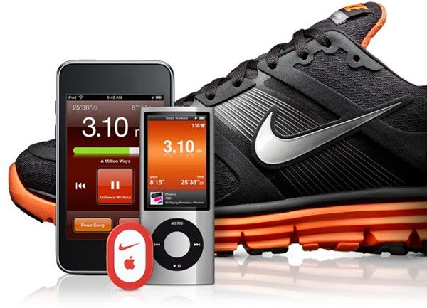 Nike Plus - shoes and software.  Makes running fun!