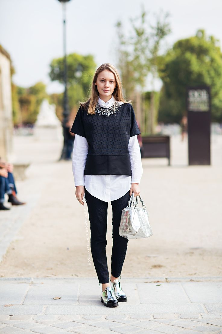 Alina Stockholm Streetstyle Ladies Style Pinterest