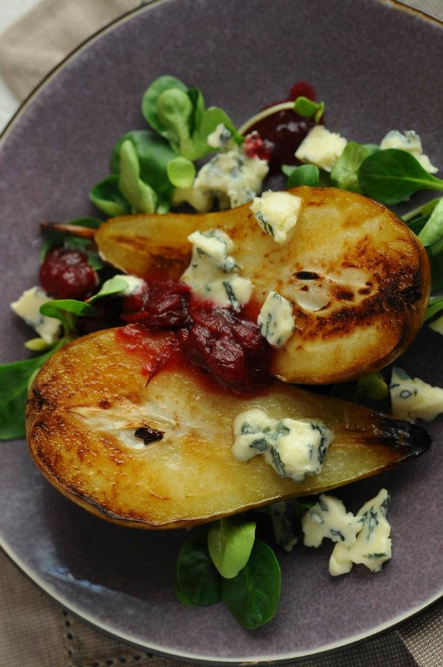 #werandafamily #lunch #pears #cranberries #food #poznan