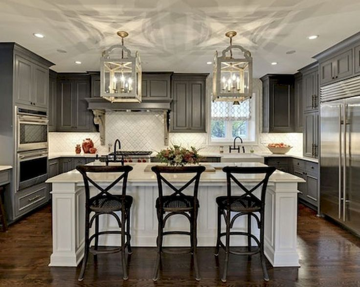 150 gorgeous farmhouse kitchen cabinets makeover ideas (75)