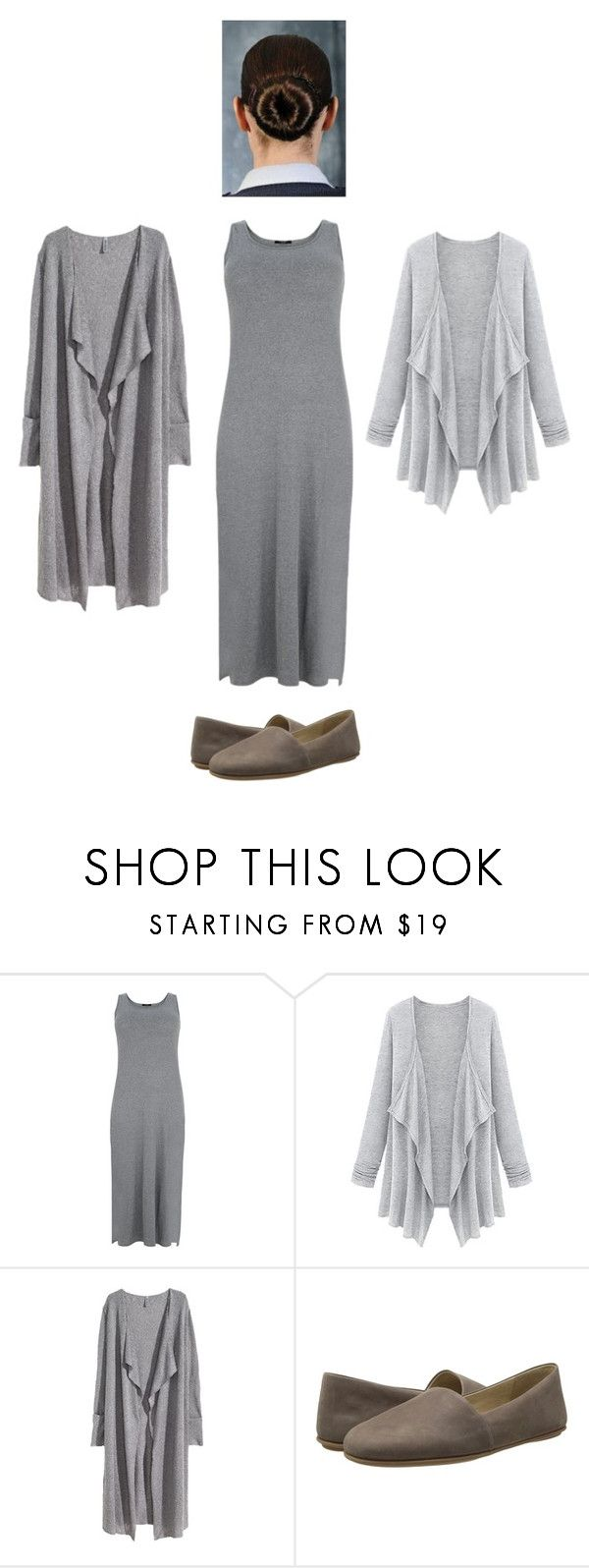 """""""Beatrice Prior cosplay"""" by cosplay23 ❤ liked on Polyvore featuring H&M, ECCO, divergent, cosplay, abnegation and tris"""