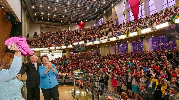 Igreja Assembleia de Deus abre as portas para Dilma (Veja Vídeo)
