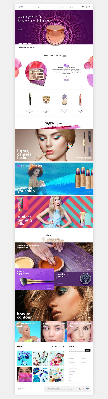 查看此 @Behance 项目: \u201cTarte Cosmetics E-commerce\u201d https://www.behance.net/gallery/43392071/Tarte-Cosmetics-E-commerce