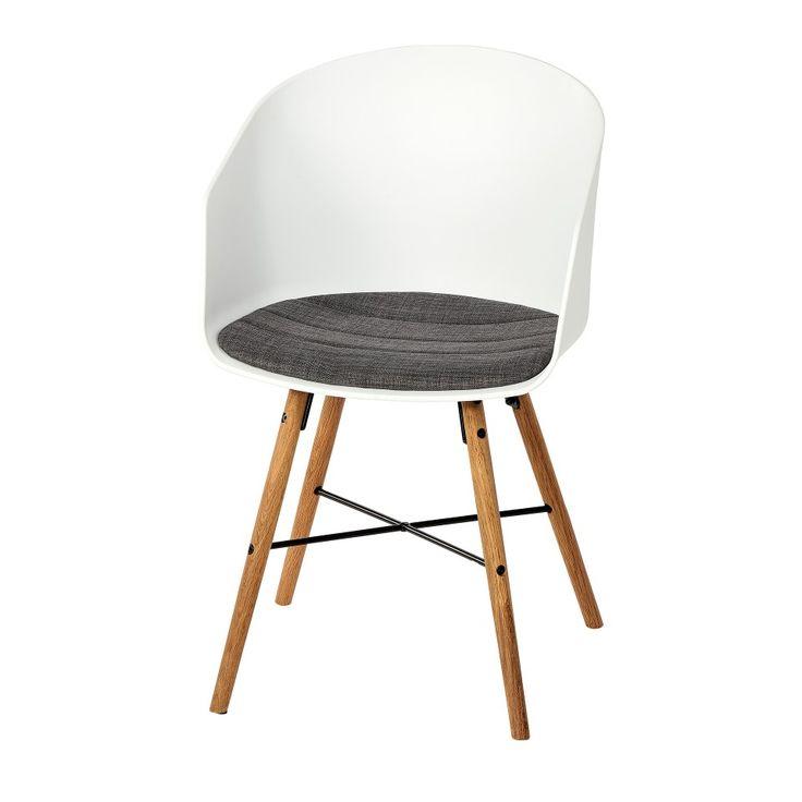 Esszimmerstuhl Hvam (retro, weiß) - Esszimmerstühle - Esszimmermöbel & Küchenmöbel - Möbel - Dänisches Bettenlager