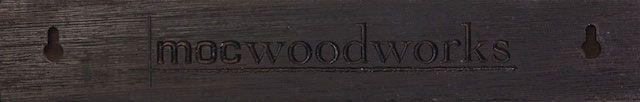 """12"""" Wenge M.O.C. Board  back side  Magnetic knife Rack, Magnetic Knife Strips, magnetic wood Board, magnetic knife holder or Magnetic Knife Storage Strip  mobwen12 854336005037 http://www.mocwoodworks.com/m.o.c.-boards/m.o.c.-board-12-wenge-magnetic-knife-strip/"""