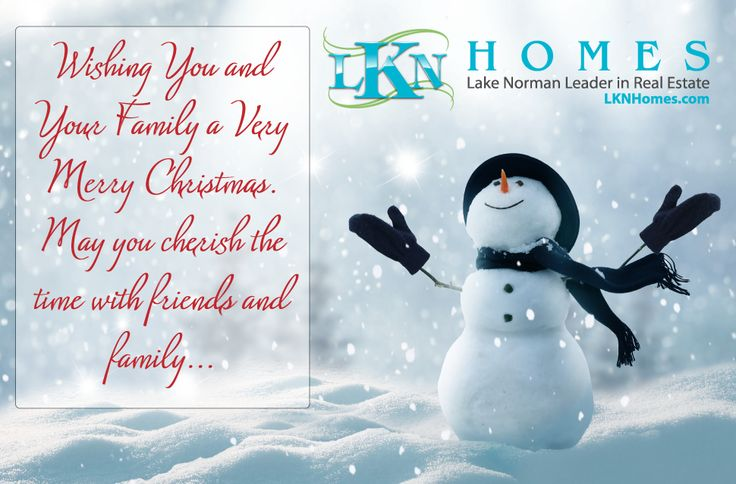 Happy Holidays from all your friends at LKNHomes.com.   #Charlotte #CLT #LKN #LakeNorman #LKNHomes #Realtor