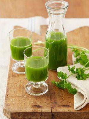 パクチーと小松菜のデトックスジュース レシピ