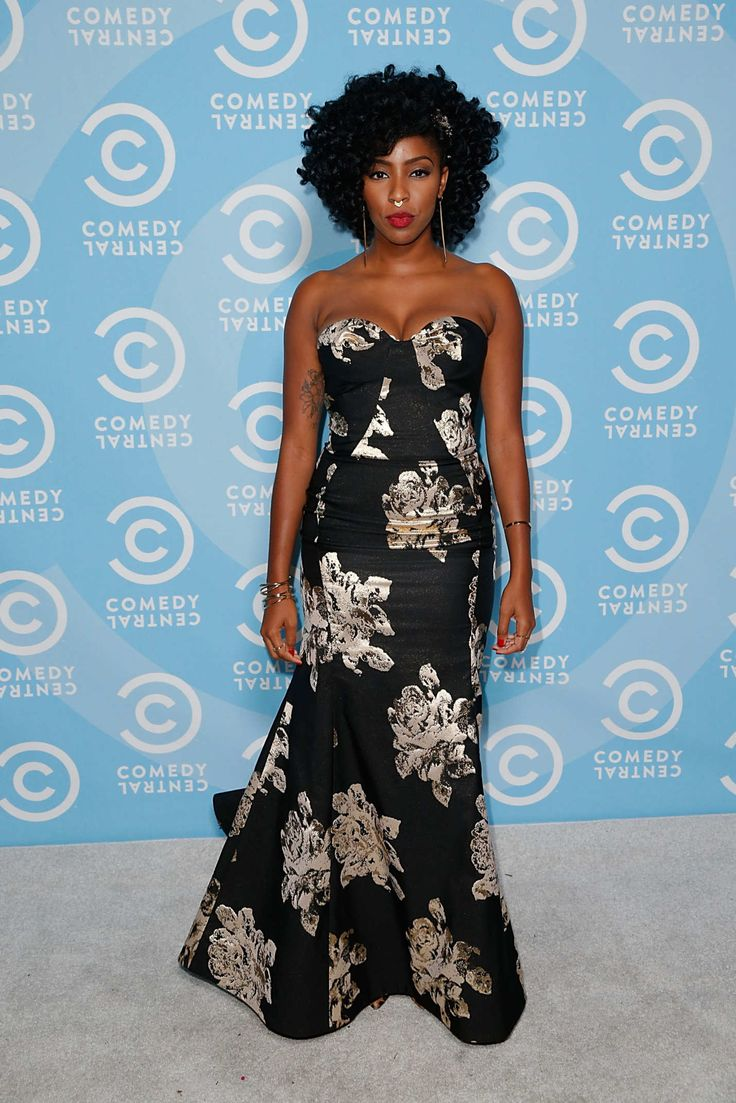 Jessica Williams in Gustavo Cadile, 2015 Emmy Awards