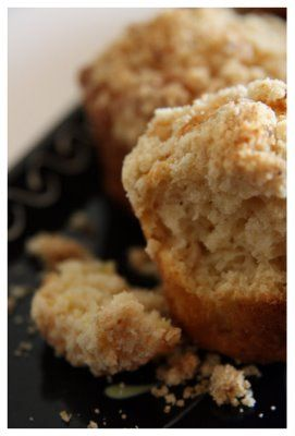 Muffins aux pommes & streussel