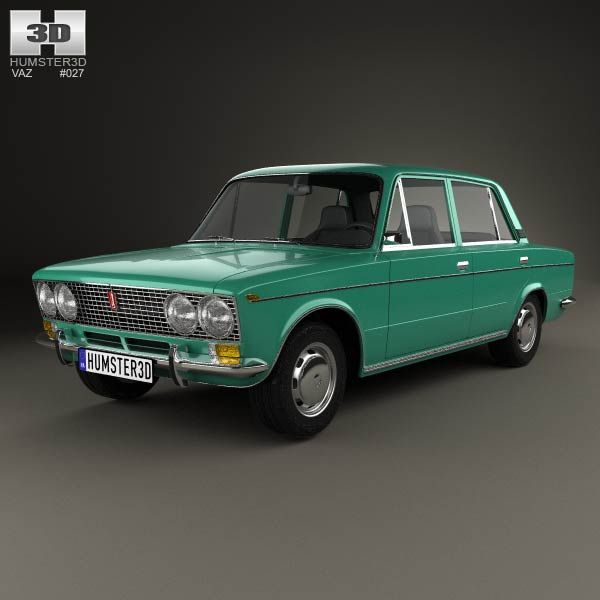 VAZ Lada 2103 1972 3d model from humster3d.com. Price: $75