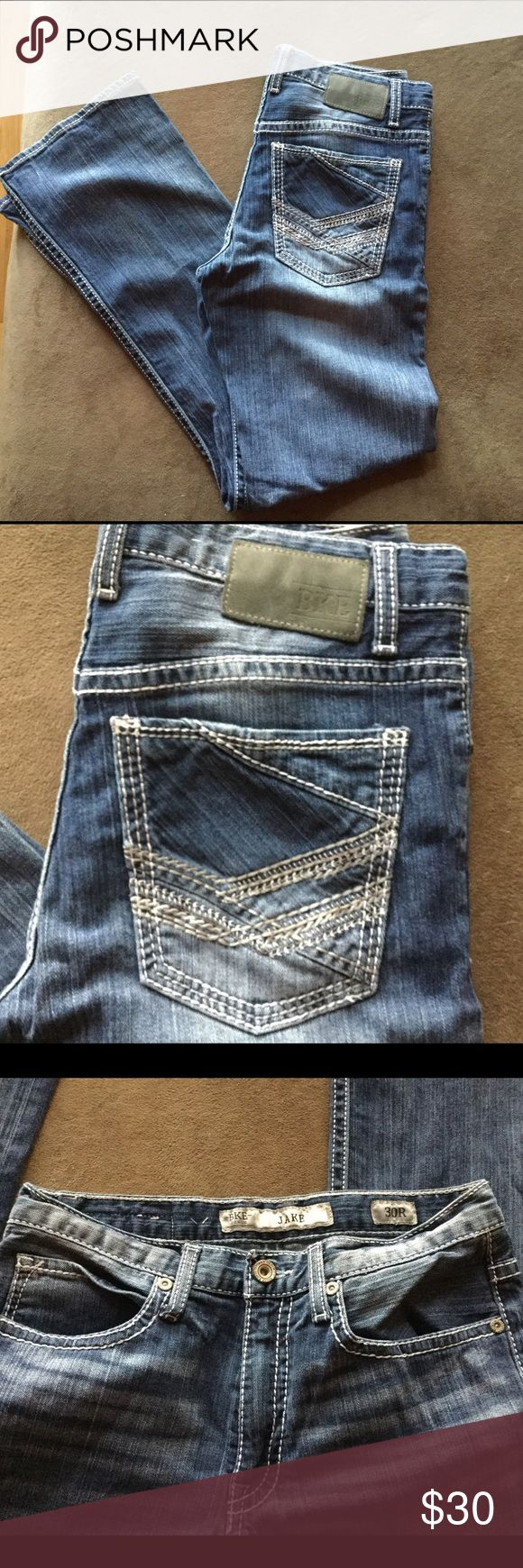 """Young Men's Buckle Jeans """"Jake"""" 30x31 Previously worn Buckle Jeans. Style Jake. 30x31. No strains, rips, tears. Freshly washed and line dried. Buckle Jeans Bootcut"""