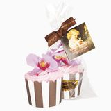 Мыло для гурманов «Кекс «Орхидея с малиной»