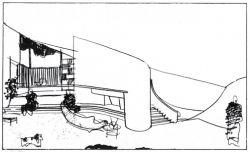 Croquis Casa Calderon, 1963 Fernando Martínez